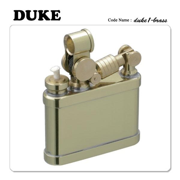 DUKE デューク1 オイルライター 真鍮ブラス 【ギ...