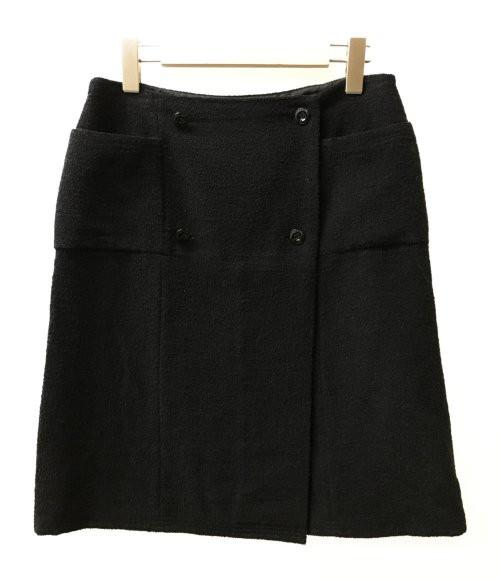 美品 シャネル SIZE 42 (M) ツイードスカート 07C...