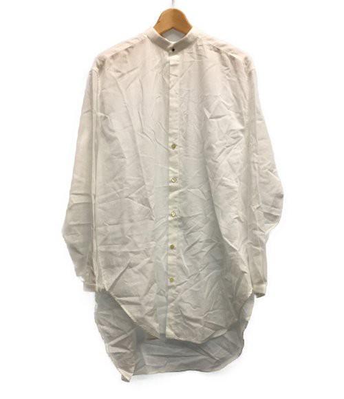 SIZE 36/14 (XS以下) ノーカラー長袖シャツ 17SS ...