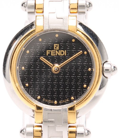 フェンディ 腕時計 Zucca 760L クオーツ FENDI レ...
