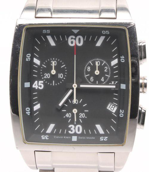 訳あり カルバンクライン 腕時計 K30371 クオーツ...