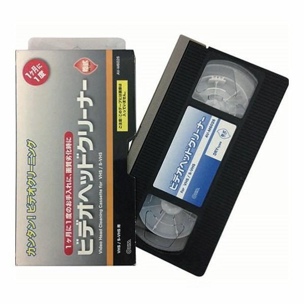 OHM ビデオヘッドクリーナー 乾式 VHS/ビデオ...
