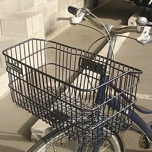 自転車かご 超ワイドな自転車カゴ デカーゴ 通勤 ...