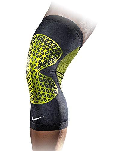 NIKE ナイキ NIKE Pro Combat Knee Sleeve 蛍光グ...