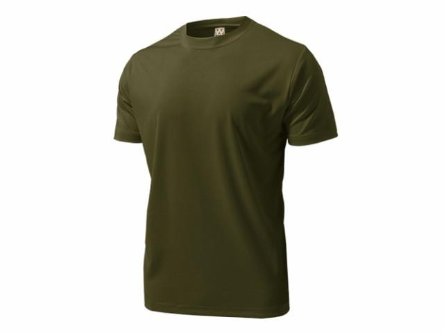 WUNDOU (ウンドウ) ドライライトTシャツ オリー...
