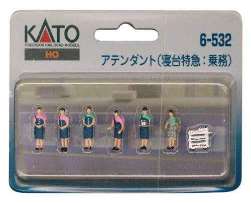 KATO(カトー) [HO]   6-532 人形 アテンダント (...
