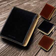 メンズ 二つ折り財布 送料無料累計8000個販売突...