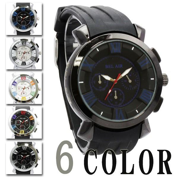 マルチカラーインデックス メンズ 腕時計豊富なカ...