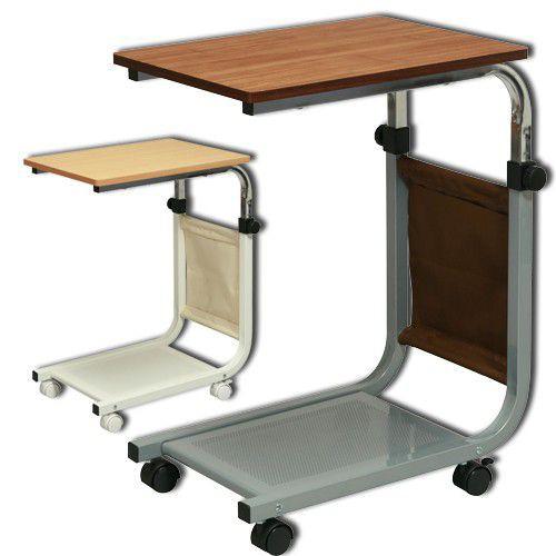 サイドテーブル キャスター付き 高さ調整 サイド...