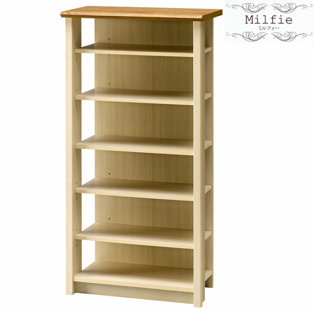 本棚 ウッドラック 収納棚 木製 収納 AMK-0610