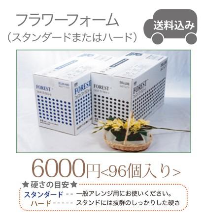 フラワーフォーム送料込  48個入り @3000円×2...