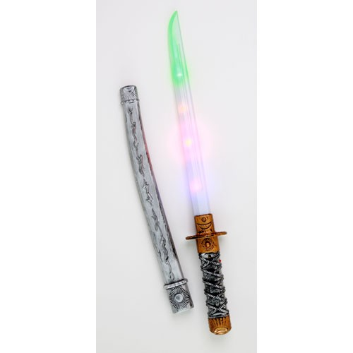 光る忍者刀