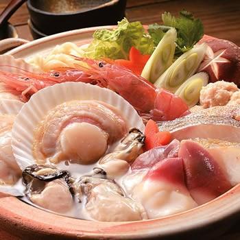 貝鮮塩麹鍋セット[N-05]ほたて、牡蠣、ホッキ、...
