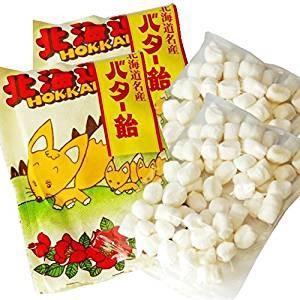 北海道名産 きつねバター飴×2袋セット ゆうパケ...