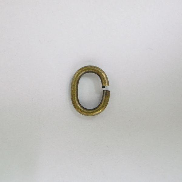 Cカン 真鍮製 1.2x6x8 アンティークゴールド ...