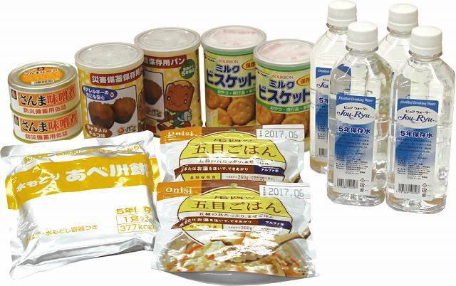 (保存期間5年)(6食分セット)非常食6食分セット(送...