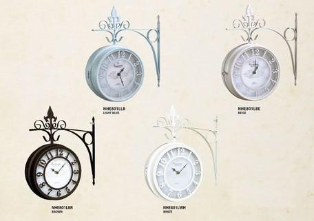 OLD STREET BOTHSIDE CLOCK L 【掛時計】【アンテ...