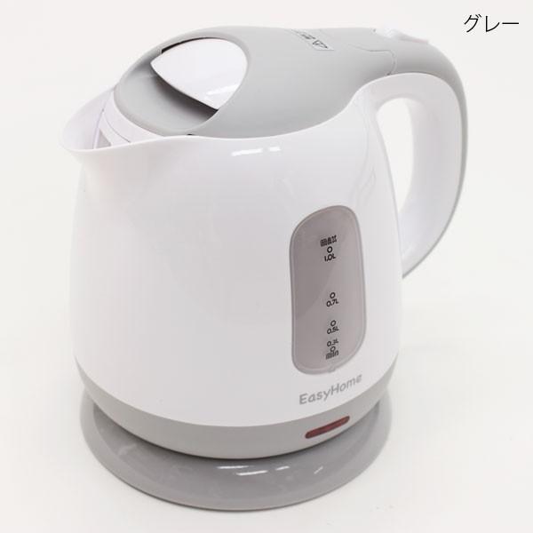 コンパクトケトル KTK-300 グレー 容量:1.0L(送...