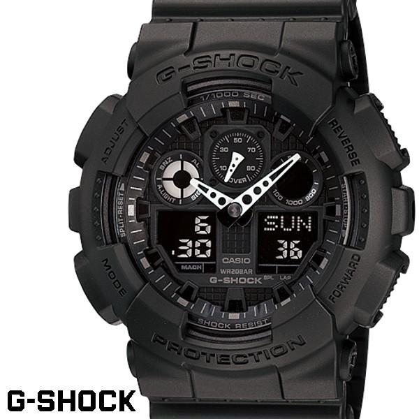 CASIO GA-100-1A1 G-SHOCK Gショック ブラック 黒...