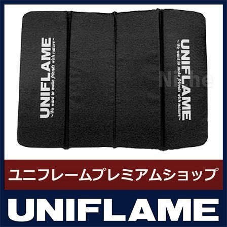 UNIFLAME ユニフレーム ざぶとん(ブラック) 69131...
