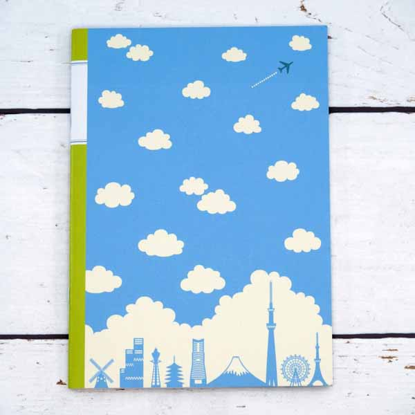 A5ノート 雲とシルエット フロンティア 東京 モ...