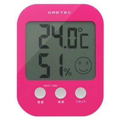 ドリテック デジタル温湿度計 「オプシス」 ピン...