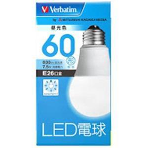 三菱ケミカルメディア LED電球 一般電球形 60W形...