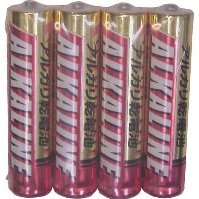 三菱 アルカリ単4電池 4本パック LR03R/4S
