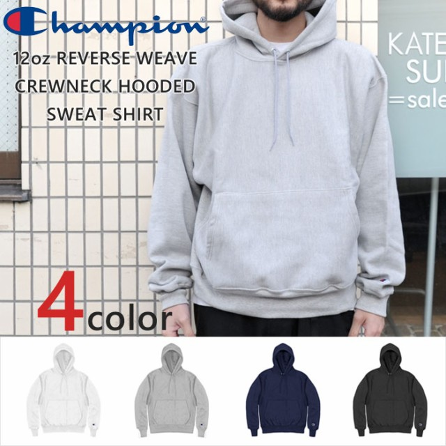 CHAMPION 12oz REVERSE WEAVE PARKA PULL OVER チ...