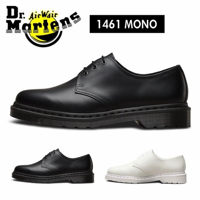 e4f72d61af68e3 ドクターマーチン モノクロ Dr.Martens CORE 1461 MONOCHROME 3ホール レザーシューズ ブーツ ローカット メンズ