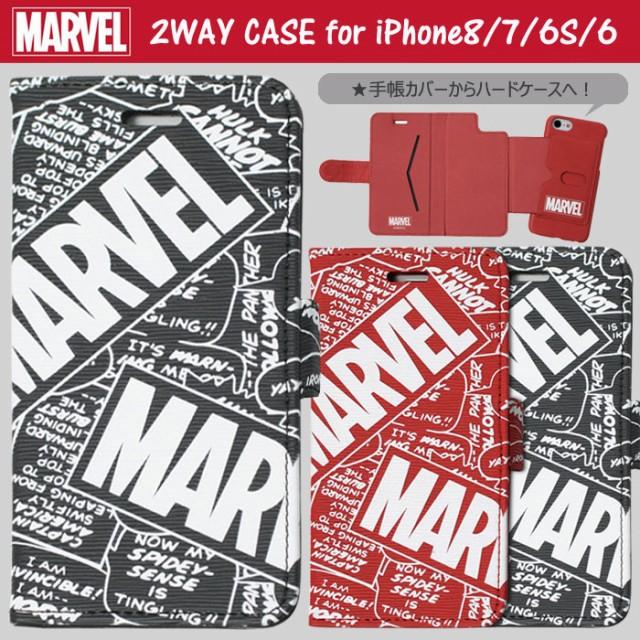 ● 送料無料 iPhone8 iPhone7 iPhone6S 6 マーベ...