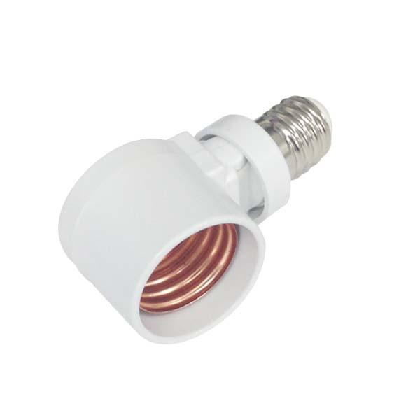 オーム電機 可変式変換ソケット 角度調整機能 E17...
