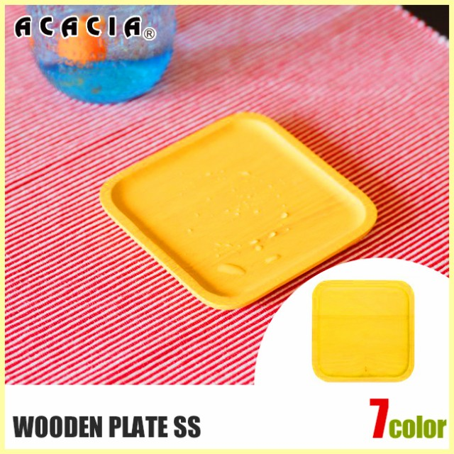 ACACIA アカシア WOODEN PLATE SS AA-008 お皿 プ...
