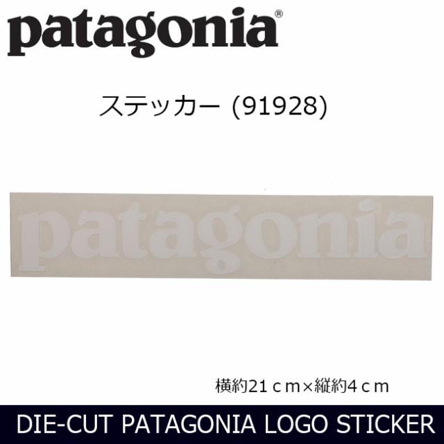 パタゴニア Patagonia  DIE-CUT PATAGONIA LOGO S...