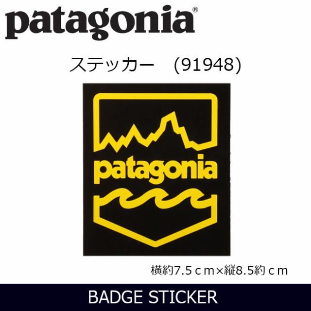 パタゴニア Patagonia  PATAGONIA BADGE STICKER ...