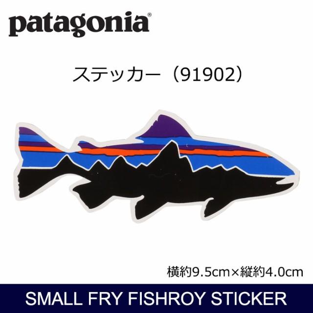 パタゴニア Patagonia Small Fry Fishroy Sticker...