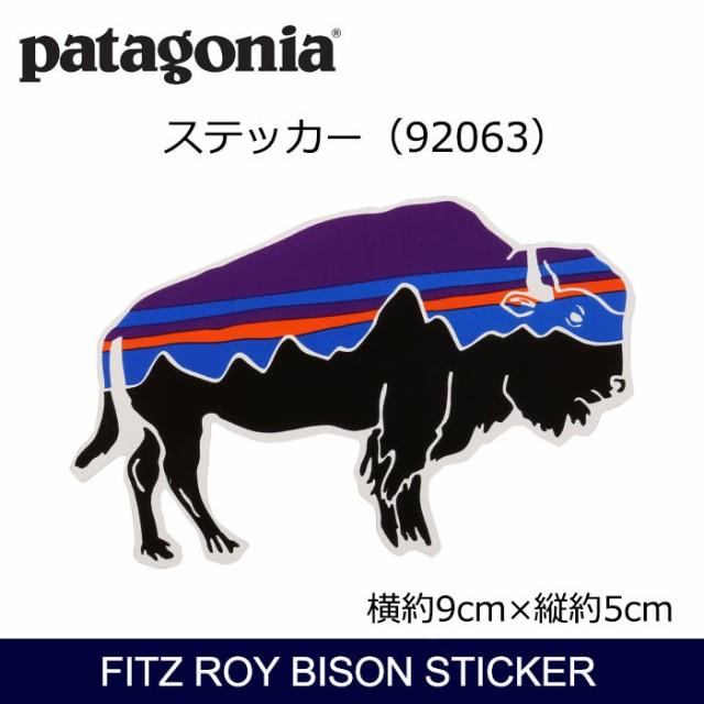 パタゴニア Patagonia Fitz Roy Bison Sticker 92...