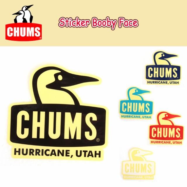 チャムス chums ステッカー Sticker Booby Face ...