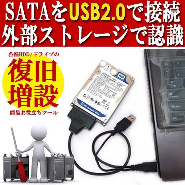 [送料無料][定番USB2.0対応]HDD救済/再活用の簡易...