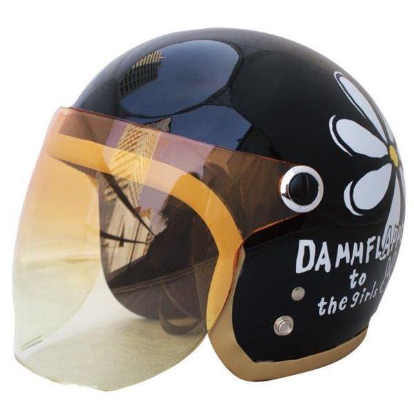 ダムトラックス(DAMMTRAX) ヘルメット フラワー...