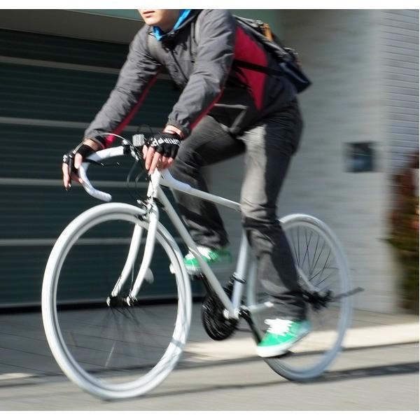 ロードバイク 700c(約28インチ)/ホワイト(白) ...
