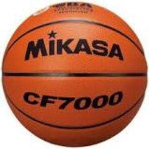 バスケットボール 検定球7号 天然皮革 茶 公式試...