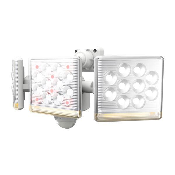 LED センサーライト/照明器具 【コンセント式 12W...