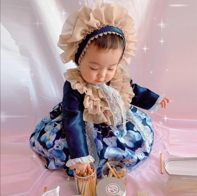 ロリータファッション ベビー キッズ サイズ 子供...