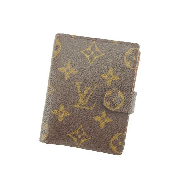4f0f4055cebc ルイ ヴィトン Louis Vuitton 手帳カバー ミニサイズ レディース モノグラム 【中古】 Y4068