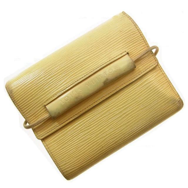 ルイ ヴィトン Louis Vuitton 二つ折り財布 M6346...