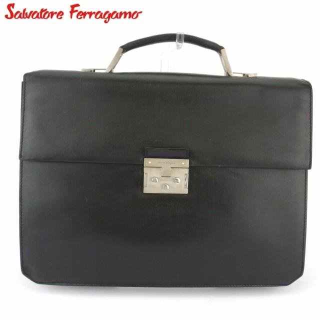 サルヴァトーレ フェラガモ ビジネスバッグ ブリ...