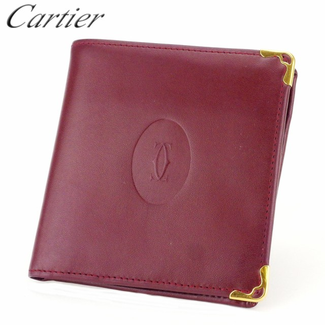 カルティエ 二つ折り 財布  マストライン Cartier...