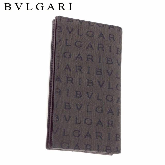ブルガリ 長札入れ 札入れ 22629 ロゴマニア BVLG...