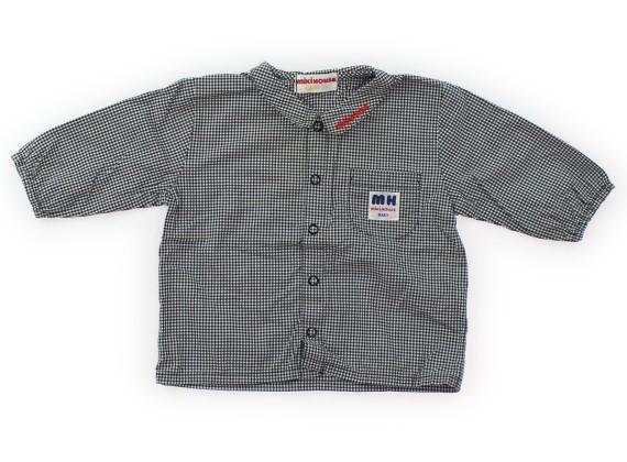 bbd8fa887e61b ミキハウス mikiHOUSE シャツ・ブラウス 70サイズ 男の子 USED子供服 ...
